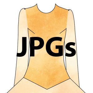 Embroidery Bodice - JPGs for Digitization