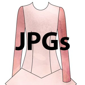 Slim Sleeve - JPGs for Digitization