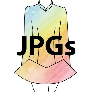 Solo Dress - JPGs for Digitization