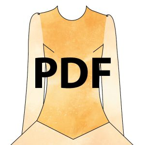 Embroidery Bodice (Add-On) - PDF
