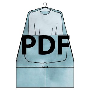 Hanging Dress Bag - PDF
