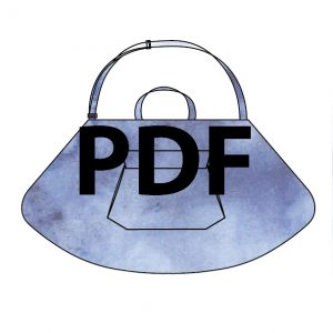 Wedge Dress Bag - PDF