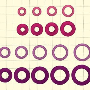 Round Outlines - Embroidery Files