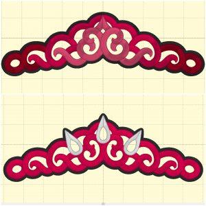 Tiara 4 (4 styles) - Embroidery Files